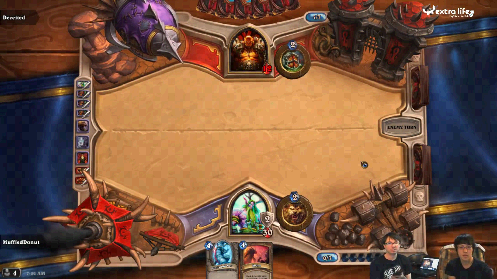 Hearthstone: Heroes of Warcraft Gameplay