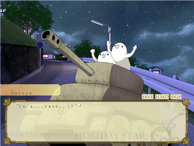 Hatoful Boyfriend - Holiday Star Gameplay